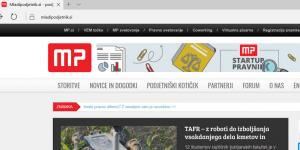 Pravni vidiki spletnega portala