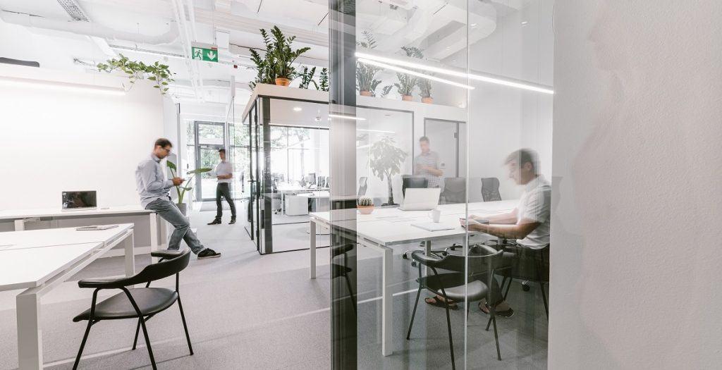 MP hub - coworking prostor v Ljubljani
