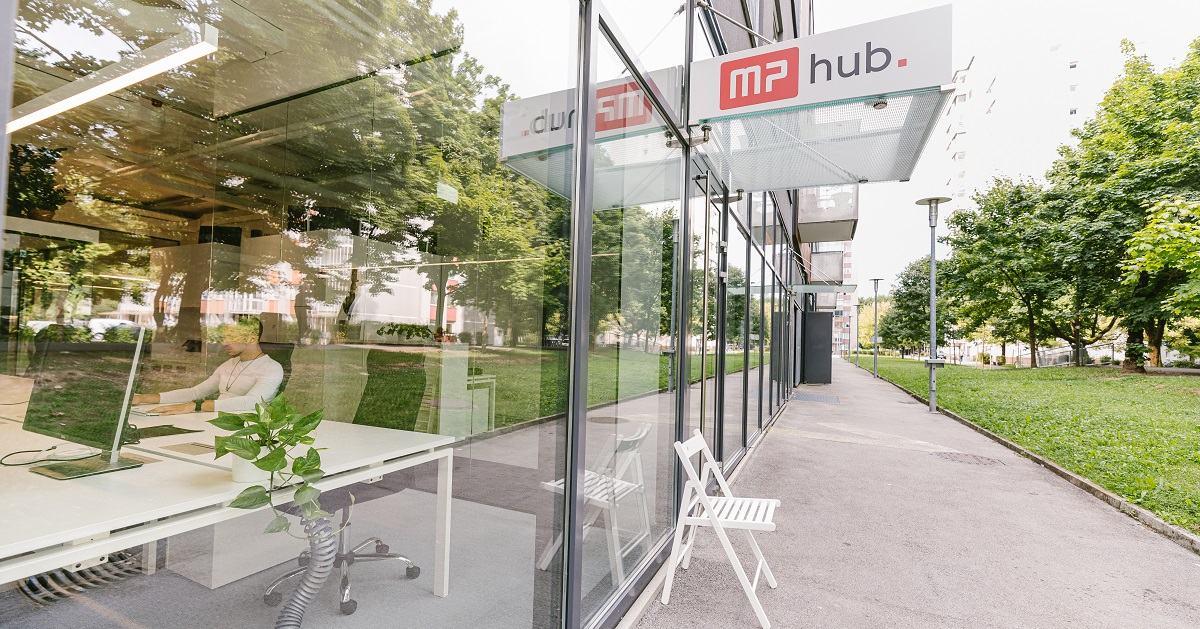MP hub - coworking - vhod