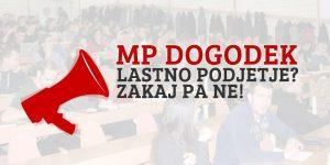 MP dogodek: Lastno podjetje? Zakaj pa ne! (LJ)