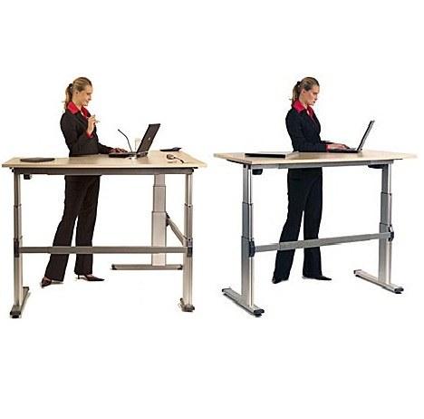 Pozabite na tipične pisalne mize, raje delajte stoje!
