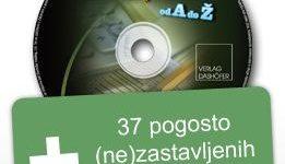 Novo na CD-ju! Zaključne knjižbe, izkazi in poročila od A do Ž