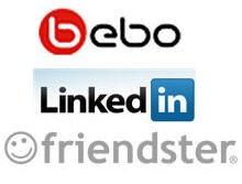 Friendster, Bebo in LinkedIn po stopinjah Facebooka