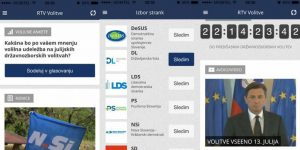 Aplikacija, ki je Slovencem približala parlamentarne volitve