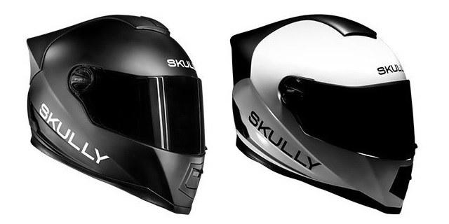 Rekorder na IndieGoGo: Futuristična čelada Skully navdušila motoriste