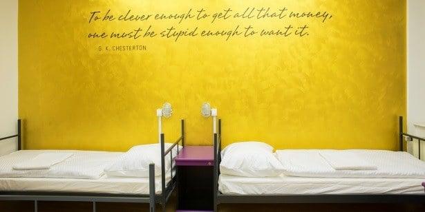 Ljubljanski hostel Tresor na Travelstarterju