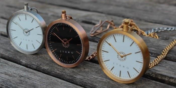 Moderne žepne ure Itero na Kickstarterju