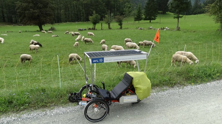 Fascinantno kolo s pogonom na sončno energijo