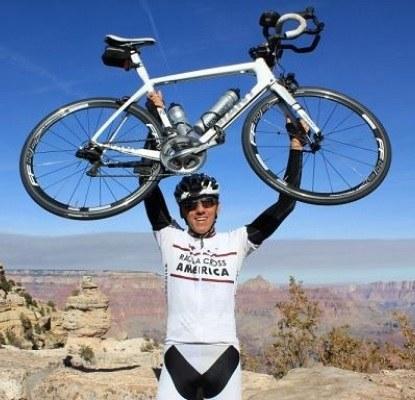 Ultramaratonski kolesar Marko Baloh na Kickstarterju