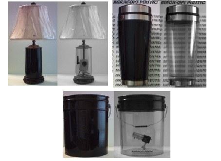 Poslovna priložnost: kamera skrita za črno OPS plastiko