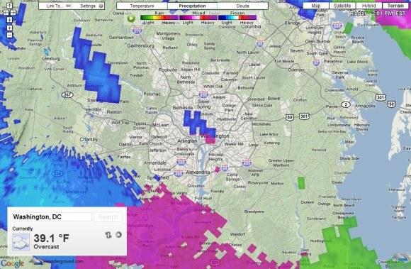 Greste na poslovno pot in vas zanimajo vremenske razmere?
