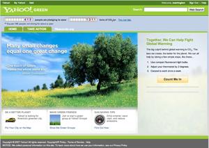 Kdo je bolj zelen? Yahoo ali Google?