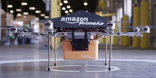 Amazon bo dostavljal z majhnimi oktokopterji