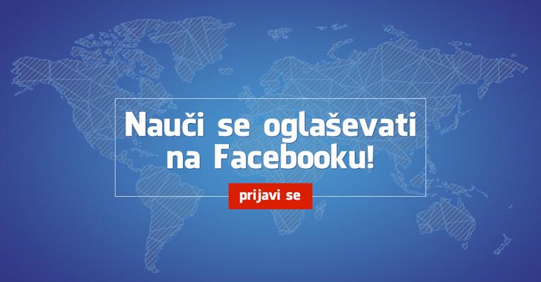 Prijavite se na e-obveščanje o Facebook delavnicah