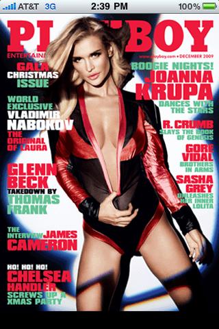 Playboy s seksi iPhone aplikacijo