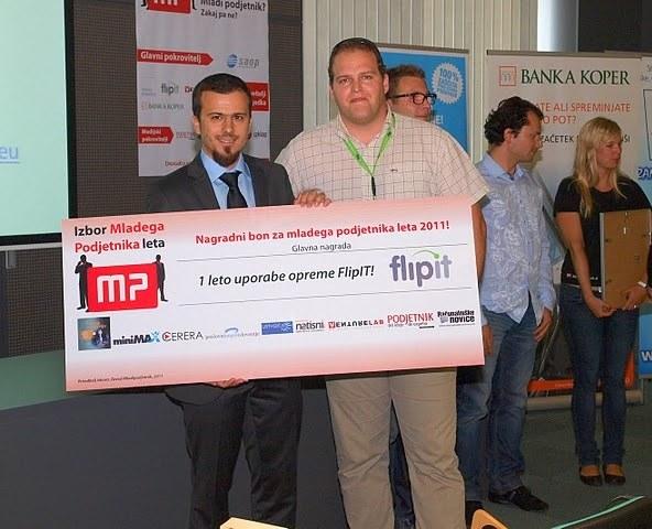 Mladi podjetnik leta 2011 je Admir Latić!