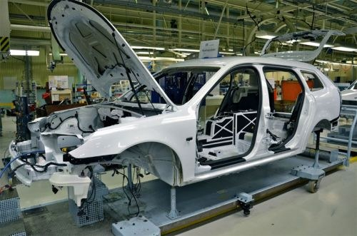 Saab že izdeluje prva električna vozila 9-3 ePower