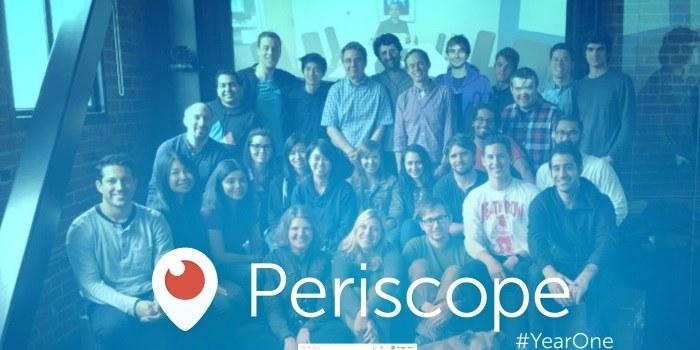 Periscope praznuje prvi rojstni dan