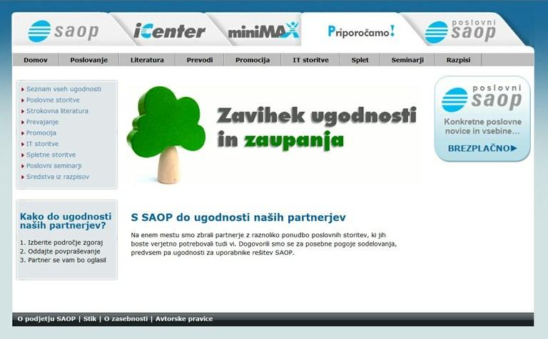SAOP krepi sodelovanje med uporabniki poslovnih programskih rešitev in storitev