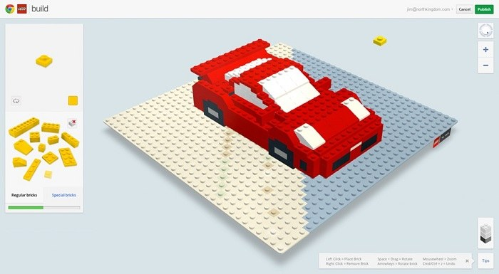 Video: Google in LEGO ustvarila virtualne LEGO kocke