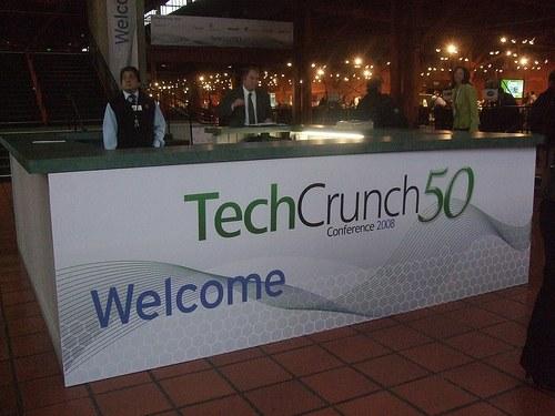 Priprave na TechCrunch50 so v teku