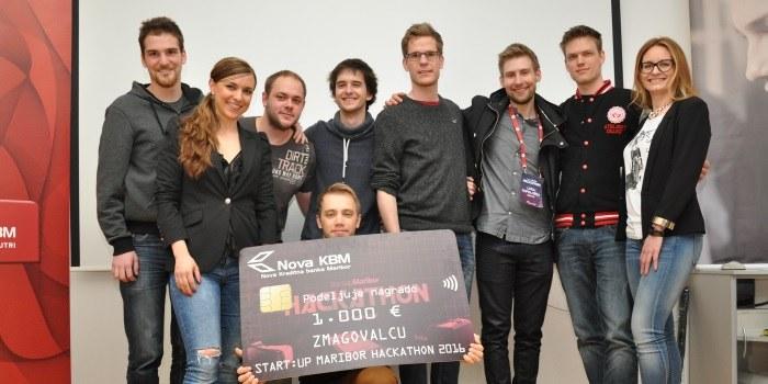 Ekipa SideEffects zmagovalka prvega Start:up Maribor Hackatona