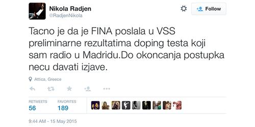 Nikola Rađen – športni narodni heroj postal simbol neuspeha