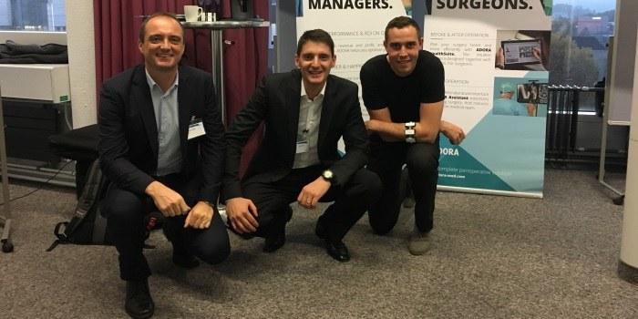 Slovenska ekipa Adora Med druga na health tech tekmovanju!
