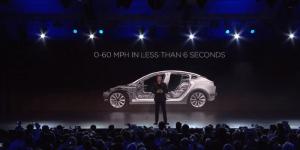 Teslin model 3 si želi že več kot 180 tisoč navdušencev