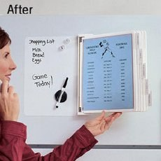 Organizirajte zapiske na hladilniku