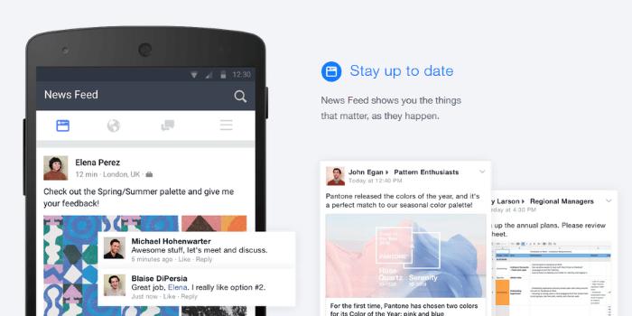 Facebook at work naj bi zaživel že prihodnji mesec