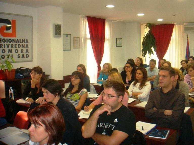 V Vojvodini se učijo računovodskih veščin z miniMAX-om