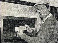 Okrogla obletnica bankomata