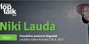 Si.mobilov TopTalk 2013: Niki Lauda