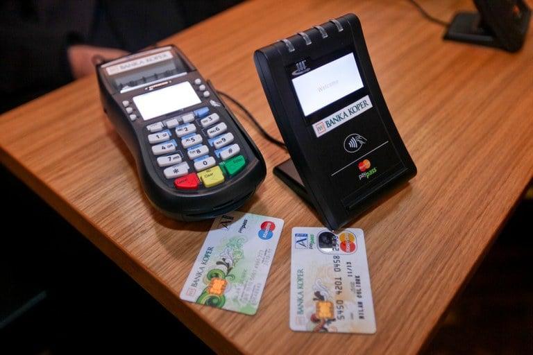 Banka Koper, MasterCard ter Mobitel predstavili brezstično poslovanje