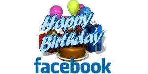 Facebook praznuje 10 let!