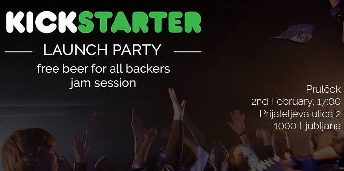 Fret Friend Kickstarter Launch Party