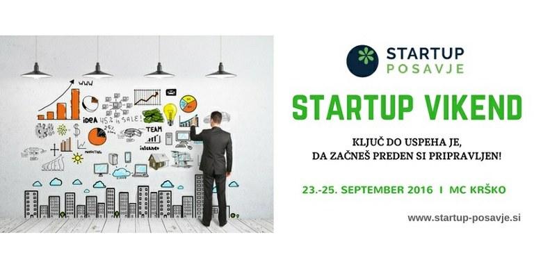 1. Startup vikend v Krškem