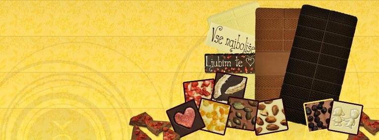 Čokolada – odlična ideja za inovativno praznično darilo