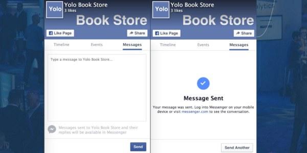 Facebook za spletne strani predstavlja nove možnosti neposrednega sporočanja