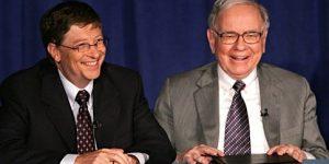 Video: Warren Buffett in Bill Gates o tem, kako uspeti