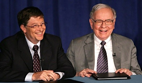 Video: Warren Buffett in Bill Gates o tem, kako uspeti