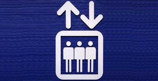 Ste že poskusili investitorja ujeti kar v dvigalu?