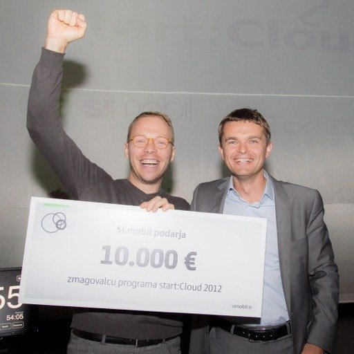Razglasili zmagovalce programa start:Cloud