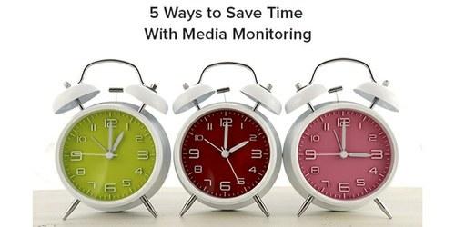 5 načinov, kako prihraniti čas s spremljanjem spletnih medijskih objav