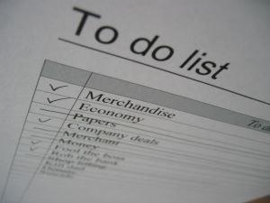Napišite si dober seznam opravil in nalog