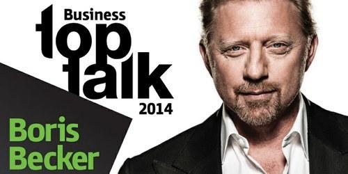 Boris Becker bo gost Si.mobilovega dogodka Business TopTalk 2014