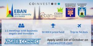 Prijave na EBAN Winter University 2016 le še danes