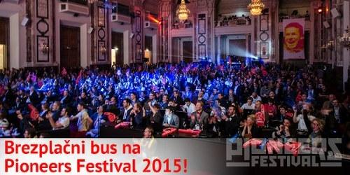 Rezervirajte si brezplačen prevoz ter super ugodne vstopnice za Pioneers Festival 2015!