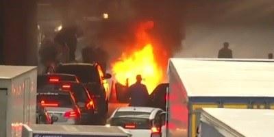 Uber se je v Franciji v imenu varnosti suspendiral